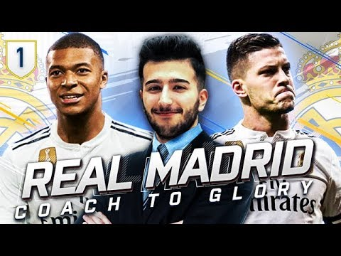 FIFA 19 REAL MADRID CAREER MODE CTG #1 – 400 MILLION DOLLAR REBUILD STARTS HERE!