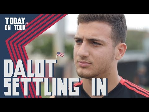 Diogo Dalot Exclusive Interview | Today On Tour | Utd v Real Madrid LIVE On MUTV Tues night!