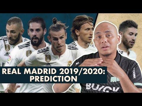 Real Madrid 2019/2020: Prediction