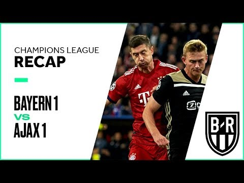 Bayern vs. Ajax Champions League Group Stage FULL Match Highlights: 1-1