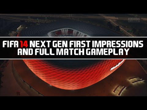 FIFA 14 Next Gen First Impressions & Full Match Gameplay Bayern Munich vs Real Madrid