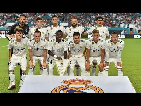 Real Madrid » Squad 2018/2019 (Age,Contract until,Market value)