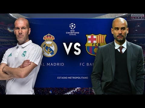 Zidane's Real Madrid VS Pep Guardiola's Barcelona – FIFA 19 Experiment