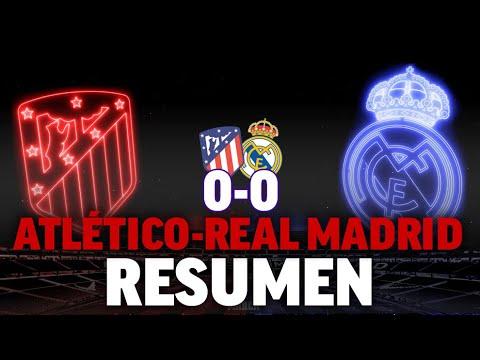 Atlético 0 – Real Madrid 0, en DIRECTO el derbi madrileño de LaLiga 2019 – 20 I MARCA