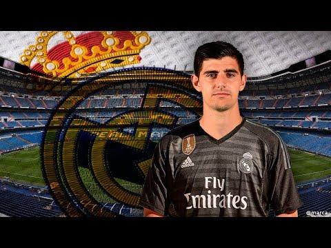 La presentación de Courtois como nuevo jugador del Real Madrid  | MARCA