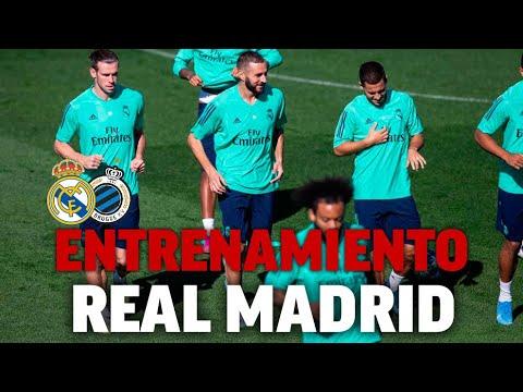 Entrenamiento del Real Madrid en la previa de Champions I MARCA