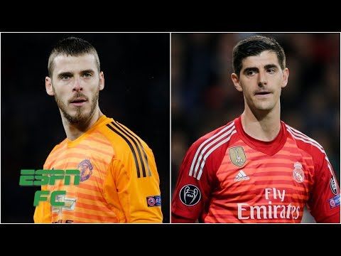 Thibaut Courtois for David De Gea swap in the works for Real Madrid & Man United? | Transfer Rater