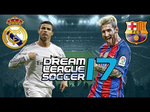 REAL MADRID x BARCELONA – DREAM LEAGUE SOCCER 17 OFICIAL