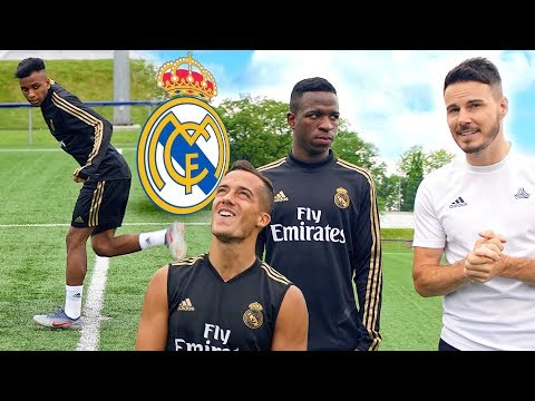 REAL MADRID ACCURACY CHALLENGE! ⚽️🔥🎯   FIFA 20 RATINGS!