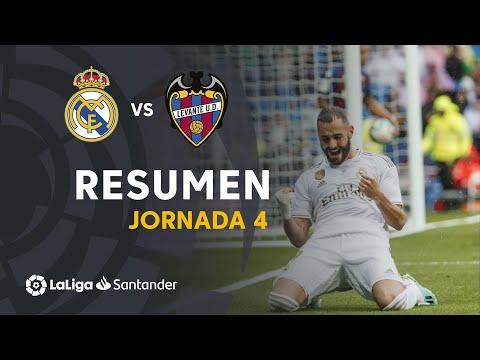 Resumen de Real Madrid vs Levante UD (3-2)