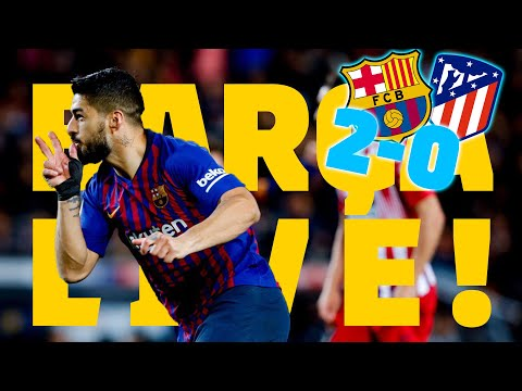 BARÇA – AT. MADRID (2-0) | BARÇA LIVE | Warm Up & Match Center