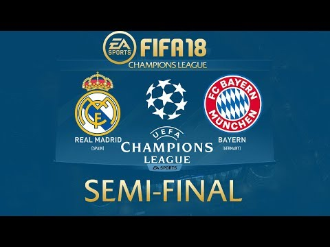 FIFA 18 Real Madrid vs Bayern Munich | Champions League 2017/18 | PS4 Full Match
