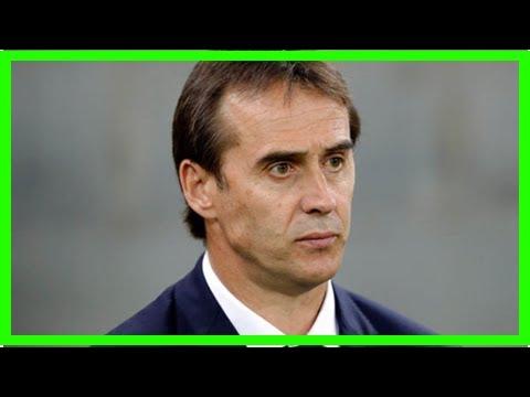 Breaking News | Real Madrid transfer news: Julen Lopetegui targets World Cup sensation