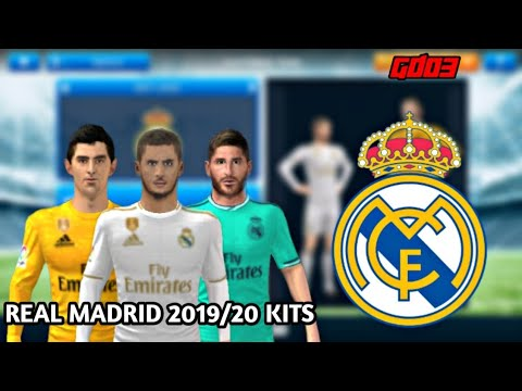 Real Madrid 2019/20 Kits • Dream League Soccer 2019 • GamerDude03