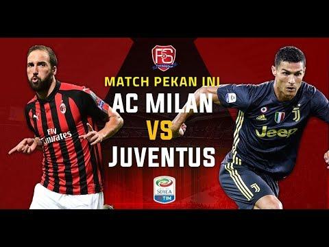 AC Milan vs Juventus LIVE STREAM SERIE A2018