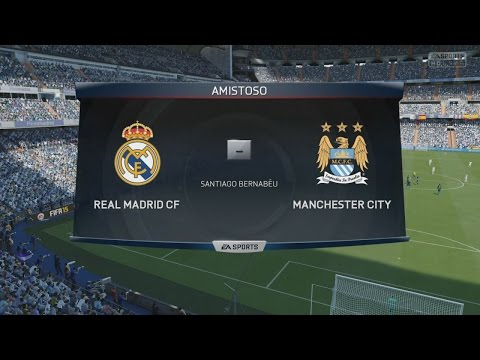 Manchester City 2015 vs Real Madrid 2015 | FIFA 15 | PeterMaister vs SergioLiveHD | PS4