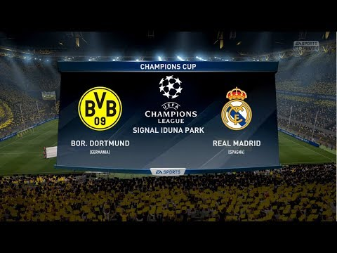 Borussia Dortmund vs Real Madrid 1-3 | Champions League 26/09/2017 | FIFA 17 Predict – by Pirelli7