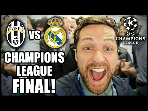 I GO TO THE CHAMPIONS LEAGUE FINAL! JUVENTUS VS REAL MADRID!