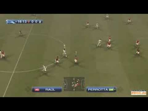 PES 2009 AS Roma vs Real Madrid Overtime – Champions League