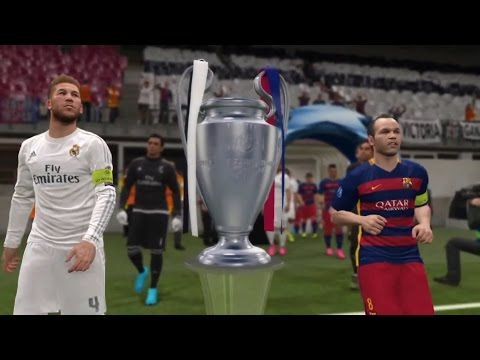 PES 2016 – UEFA Champions League Final [FC Barcelona vs Real Madrid]