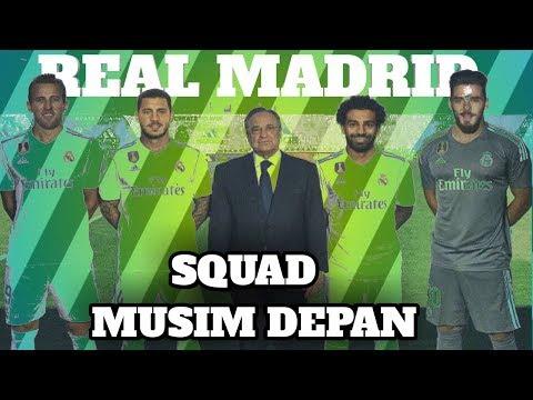 LAGI !!  Pembelian untuk Skuad Real Madrid dibursa Transfer Musim panas 2018/2019 | Prediksi