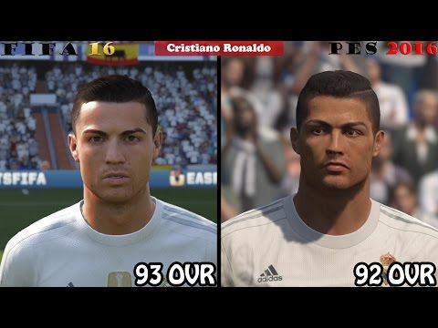 FIFA 16 vs. PES 16: Real Madrid