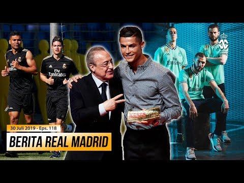 Cristiano Ronaldo dan James Rodriguez Kembali ke Madrid ● Jersey Ketiga Los Blancos Resmi di Rilis