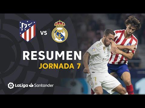 Resumen de Atlético de Madrid vs Real Madrid (0-0)