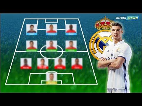 Formasi ( LINE UP ) Terbaik Real Madrid Untuk Musim Depan 2018 ( PREDIKSI )