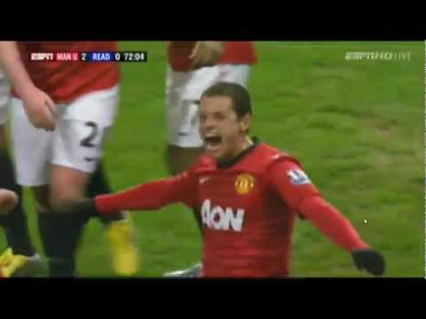 Manchester United vs Reading All Goals Highlights FA CUP 2013