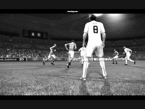 Pes 11 Real Madrid  BLACK and WHITE