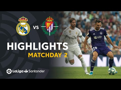 Highlights Real Madrid vs Real Valladolid (1-1)