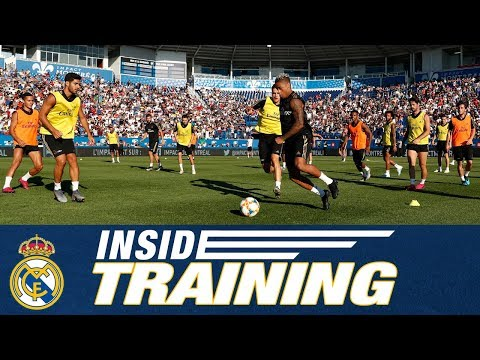 Real Madrid's FULL open training session in Montreal!