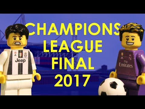 Champions League Final 2017 in LEGO (Juventus v Real Madrid)
