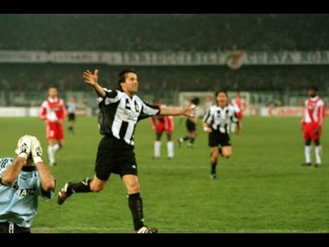 HIGHLIGHTS: Juventus vs Monaco 4-1 – UEFA Champions League Semi-Final: First Leg – 01.04.1998