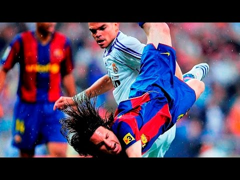Lionel Messi vs Real Madrid (Away) 07-08 ● Real Madrid 4-1 Barcelona [2008] ||HD||
