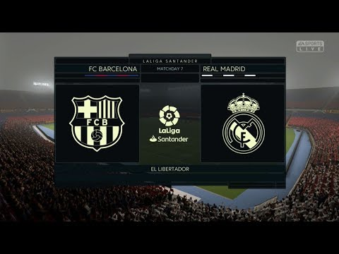 FIFA 19 BARCELONA VS REAL MADRID FULL MATCH GAMEPLAY XBOX ONE