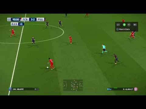 PSG VS. BAYERN MÜNCHEN FULL MATCH PES 2018 UEFA Champions League Gameplay HD