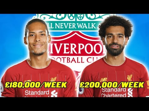 ALL LIVERPOOL PLAYERS SALARY 2019 2020