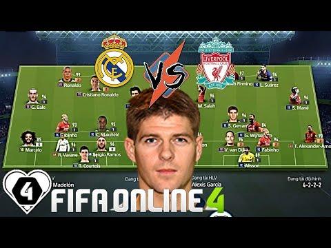FIFA ONLINE 4 | Lê Thành Vs Xuân Tùng: REAL MADRID Đối Đầu LIVERPOOL | Vòng 1/8 Giải Đấu ILFCL