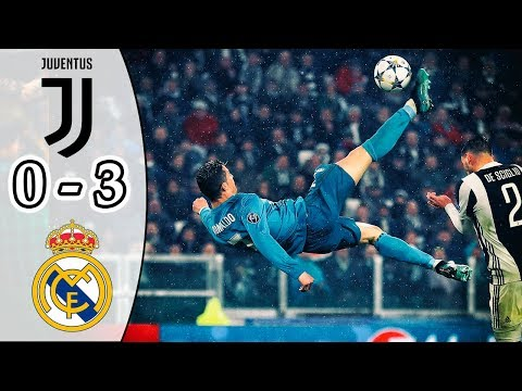 Juventus vs Real Madrid 0-3 | All Goals & Highlights | UCL Quarter-final 2017/18