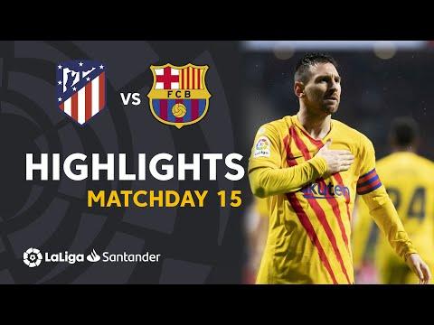 Highlights Atlético de Madrid vs FC Barcelona (0-1)