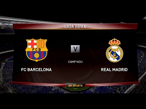 FIFA 15 PC Gameplay – Barcelona vs Real Madrid