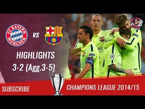 🏆 2014/15 – UCL Semifinal 2nd Leg 🏆 Bayern München vs FC Barcelona 3-2 (Agg.3-5)| HD