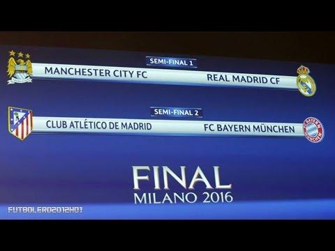 Semifinales: City-Real Madrid y Atlético-Bayern de Múnich ◉ Champions League ◉ 2016