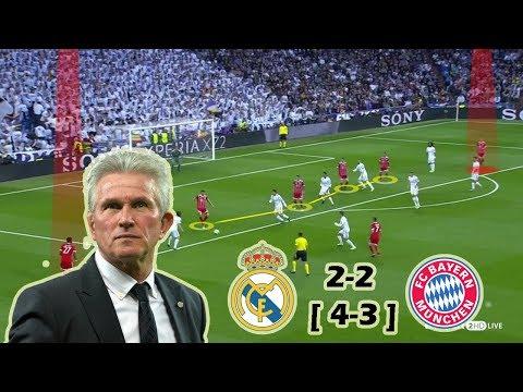 Real Madrid vs Bayern Munich 2-2 | Tactical Analysis – 2nd Leg – UCL Semi Final
