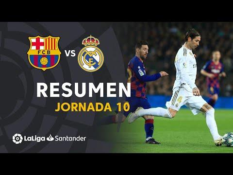 Resumen de FC Barcelona vs Real Madrid (0-0)