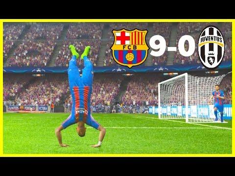 PES 2017 | BARCELONA VS JUVENTUS | UEFA Champions League Quarter Final | Gameplay PC