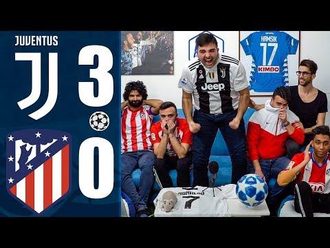 UMILIATI!!! JUVENTUS 3-0 ATL. MADRID | OTTAVI CHAMPIONS LEAGUE w/Enry Lazza, Ohm & Fiusgamer