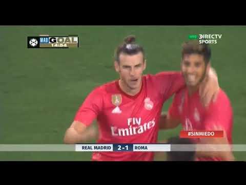 Goles | Real Madrid vs Roma